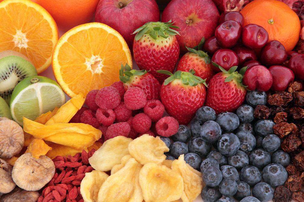 Las frutas y verduras más ricas en antioxidantes