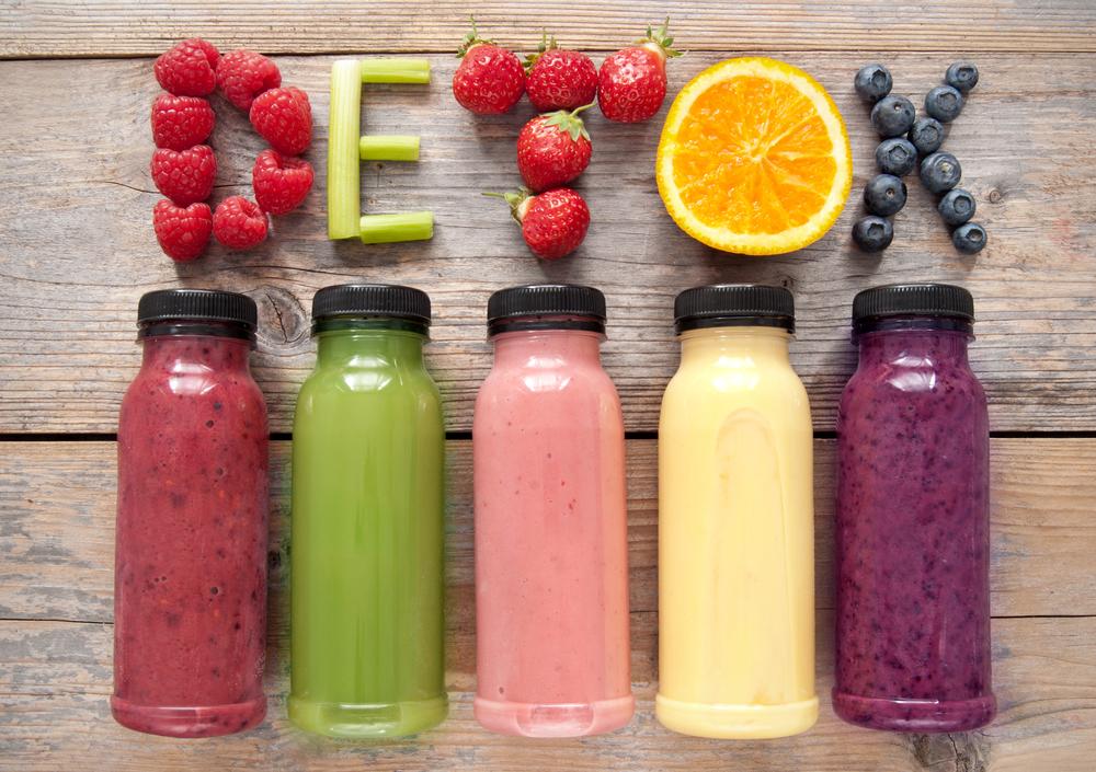Los jugos son la principal herramienta de la dieta détox